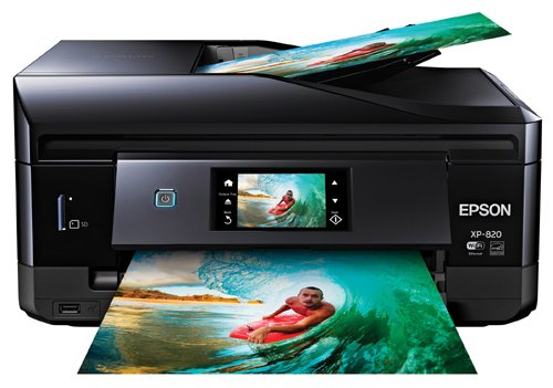 Epson Expression Premium XP820 Small-in-One Wireless Printer Black/Blue XP 820 C11CD99201