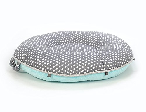 Pello Luxe Floor Pillows : GPL/ Pello Multi-use Luxe Baby-Toddler Floor Pillow/Play Mat/Lounger, Dakota/Aqua/ship from USA ...
