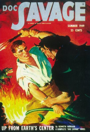 - Pop Culture Graphics Doc Savage 409732 11 by 17 Pulp Magazine Poster Style B