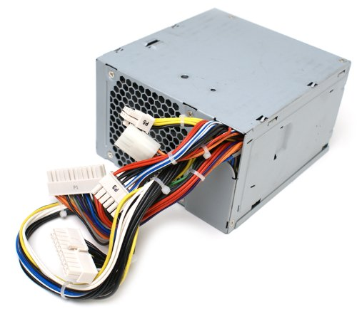 Genuine MK463 Dell 750w Power Supply (PSU) Power Brick For PowerEdge SC1430 and Precision Workstation 490, 690 Tower Systems, Compatible Part Numbers: U9692, JK933, U9692, Compatible Model Numbers: H750P-00, N750P-00