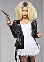 Womens Deluxe Bride of Chucky Style Costume Medium (UK 10-12)