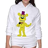 Lightweight 80's Juniors Woman's Five Nights At Freddy's X-Large Hoodie