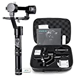 Zhiyun Crane-M 3 Axis Brushless Handheld Gimbal Stabilizer - Three 32bit MCUs 360 Degree Rotation 125g to 650g Payload for Smartphones/Action Cameras/DC/Mirrorless Cameras with 12 working hours