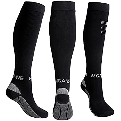 Compression Socks, 20-30mmHg BEST Recovery Performance Graduated Compression Stockings for Men Women. Athletic Sports socks, Running, Travel, Relieve Swelling, Varicose Veins, Edema, Shin Splints