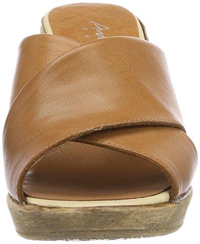 Andrea Conti Women's 1675715 Mules Brown (Cognac 062) WrCYH