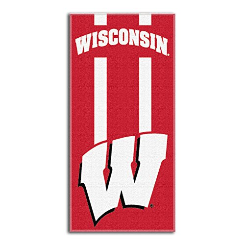Northwest NCAA Wisconsin Badgers  Beach Towel,  30 x 60-inch