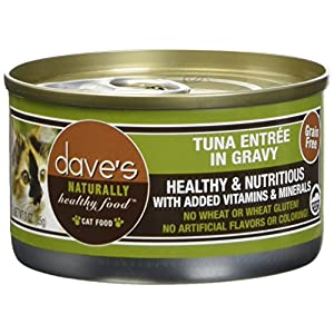 Dave's Pet Food Tuna Entrée Food (24 Cans Per Case)