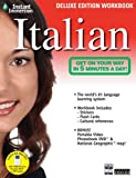 Instant Immersion Italian - Deluxe Edition Workbook (Italian and English Edition)