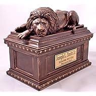 """""""Guardian Lion"""" Memorial Urn"""