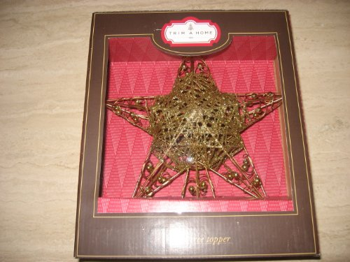 Christmas Star Tree Topper SILVER not GOLD