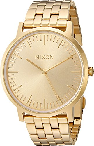 Nixon Porter A1057. 100m Water Resistant Men's Watch (20-18mm Stainless Steel Band and 40mm Watch Face)