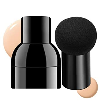 Amazon.com: Beauty Tools esponja Puff Mushroom cabeza seca y ...