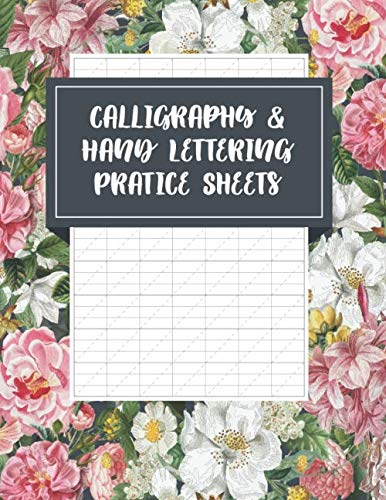 Handwriting Practice Paper: Blank Writing Sheets: Blank Calligraphy Workbook Sheets (Size 8.5x11)