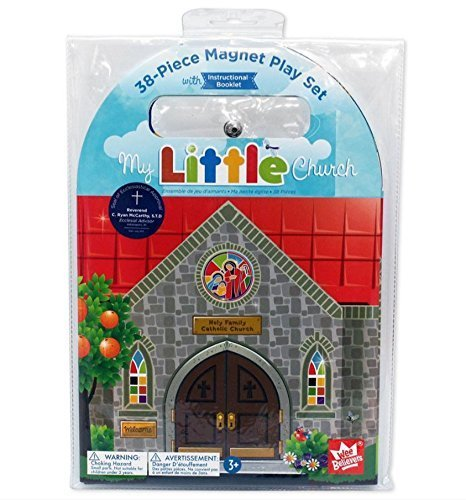 (Wee Believers My Little Church 38 Piece Magnet Book Play Set)