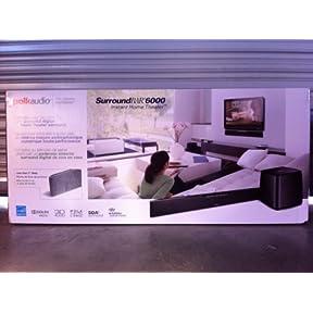 Polk Audio SurroundBar IHT 6000 Instant Home Theater (Black)