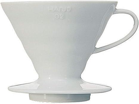 Hario VDC02W Cafetera de Goteo, Cerámica: Amazon.es: Hogar