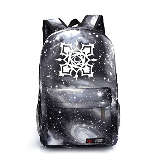 YOYOSHome Luminous Japanese Anime Cosplay Daypack Bookbag Laptop Backpack School Bag (Vampire Knight Gray)