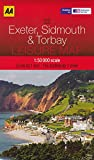 Exeter, Sidmouth & Torbay (England) 1:50,000 Hiking Map