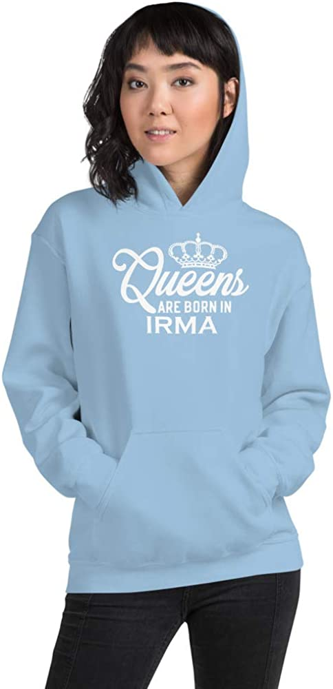 Queens are Born in IRMA PF Light Blue