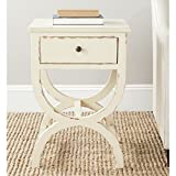 vintage accent table - Safavieh American Homes Collection Maxine Vintage Cream Accent Table
