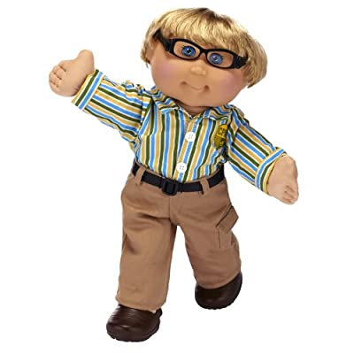 Cabbage Patch Kids Blonde Preppy Boy Styles May Vary by Cabbage Patch Kids