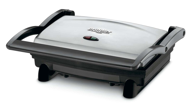 Cuisinart GR-1FR Cuisinart GR-1 Griddler Panini and Sandwich Press (Renewed), Stainless Steel by Cuisinart
