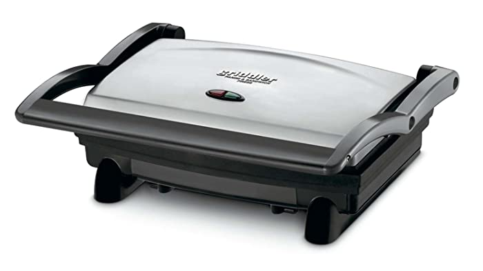 Cuisinart GR-1FR Cuisinart GR-1 Griddler Panini and Sandwich Press (Certified Refurbished), Stainless Steel