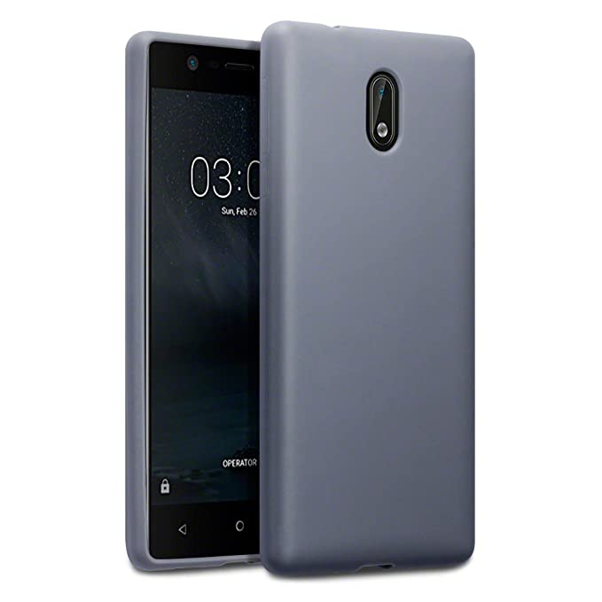 7 opinioni per Nokia 3 Custodia, Terrapin TPU Gel Custodia per Nokia 3 Cover, Colore: Opaco