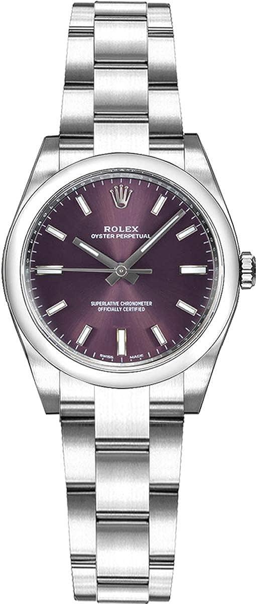 Rolex Montre pour femme Oyster Perpetual 26 176200 Cadran rouge ...