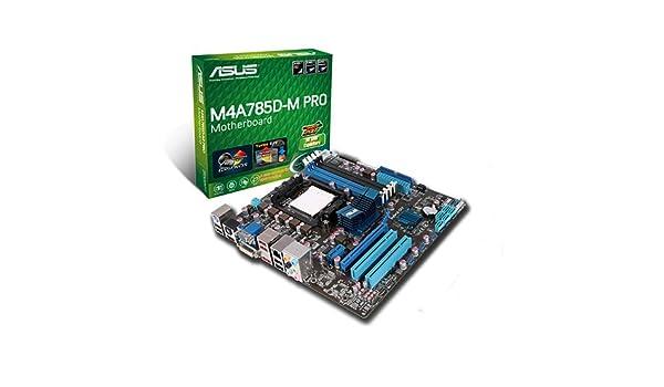 ASUS M4A785D-M PRO AMD VGA DESCARGAR DRIVER