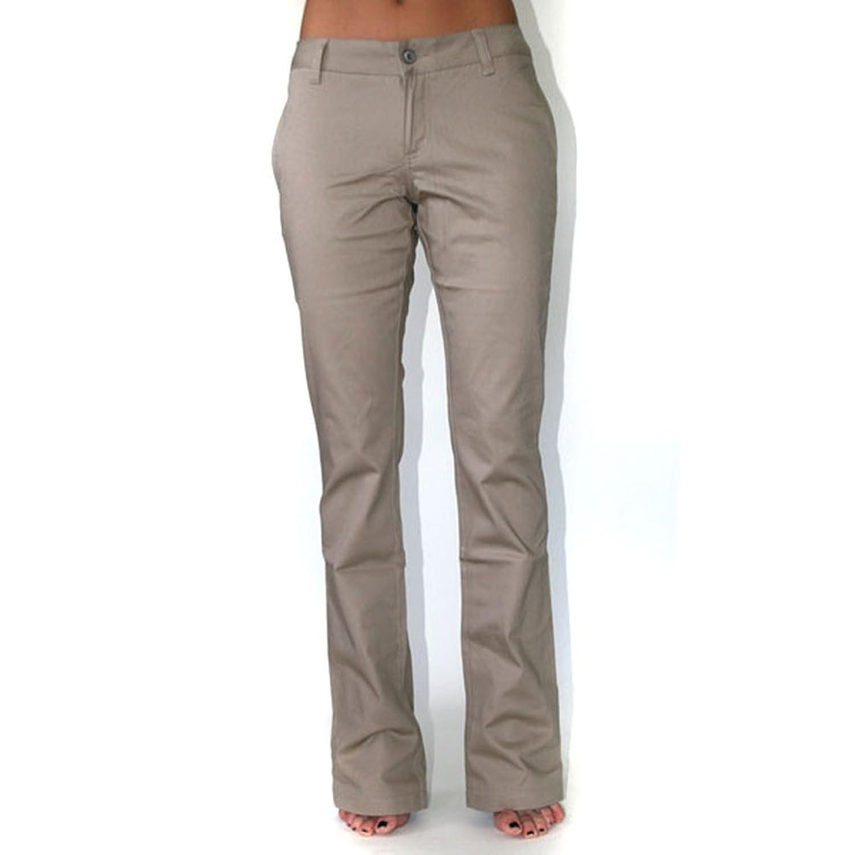 Dickies Girl - 874 Original Low Rider Straight Leg Khaki Pant