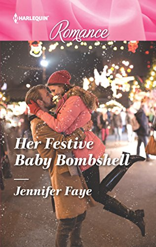 book cover of Her Festive Baby Bombshell
