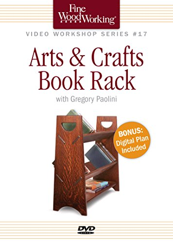 Fine Woodworking Video Workshop Series - - Crafts Dvd Rack Shopping Results