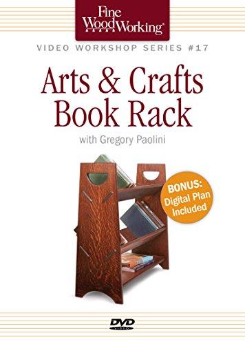 Fine Woodworking Video Workshop Series - Arts & Crafts Book Rack (Video Book Rack)