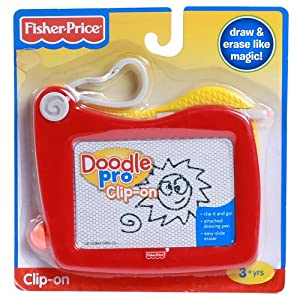 Fisher-Price Clip-on Doodle Pro Red
