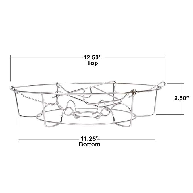 Amazon.com: Victorio vkp1057 Acero Inoxidable Canning rack ...