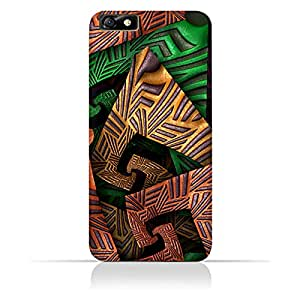 AMC Design Huawei Honor 4X Fractal Art 04 Design Case - Multi Color