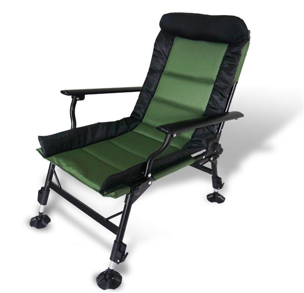 釣り椅子折りたたみポータブル調節可能な角度と高さヘビーデューティキャンプスツール   B07GYTC779