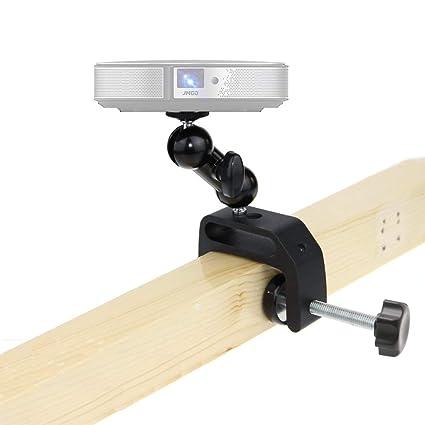 Mini Soporte de proyector, ángulo Ajustable, Soporte de sujeción ...
