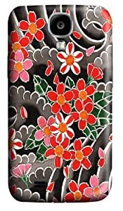 Cherry Blossoms Polycarbonate Hard Case Cover for Samsung Galaxy S4/Samsung Galaxy I9500 3D
