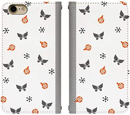 AQUOS R3 SHV44 ベルト無し 手帳型 スマホケース スマホカバー bn029(D) 蝶 ちょう チョウ バタフライ ドット アクオスフォン アクオスホン スマートフォン スマートホン 携帯 ケース アクオス アクオスR3 手帳 ダイアリー フリップ スマフォ カバー