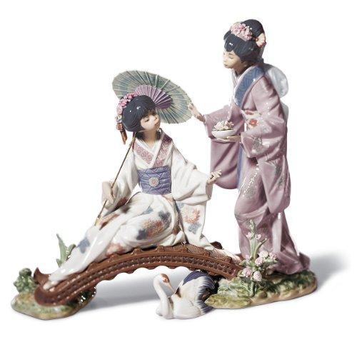 Lladro Porcelain Figurine Springtime In Japan