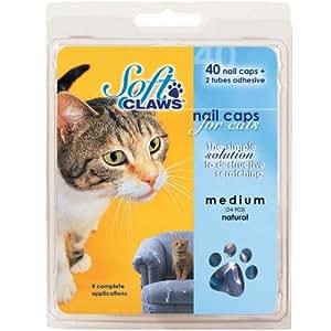 Amazon.com: Gafas de uñas de peluche – 40 tapas de uñas y ...