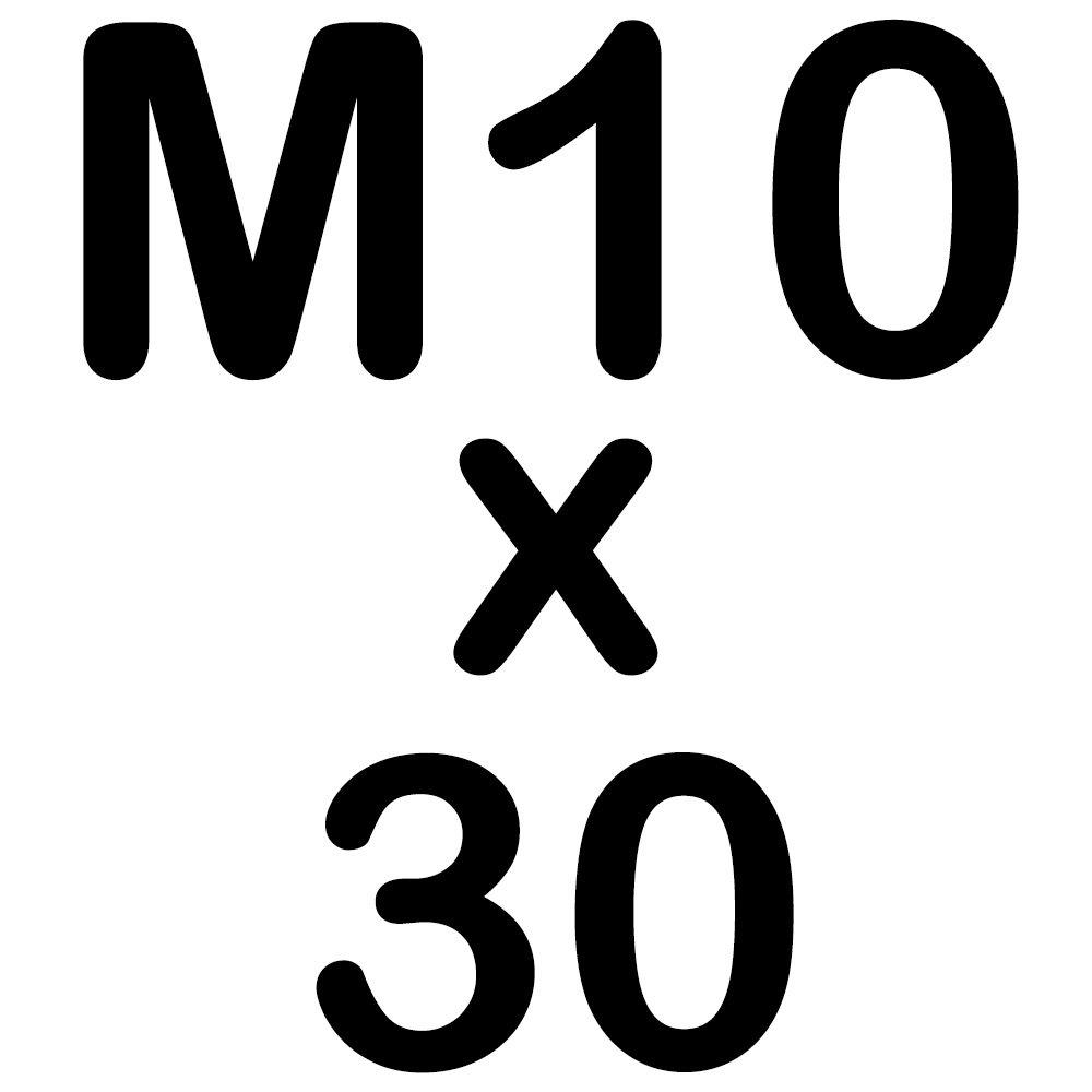10 Sechskantschrauben Edelstahl M 6 x 35 mm Vollgewindeschrauben Schrauben DIN 933 A2