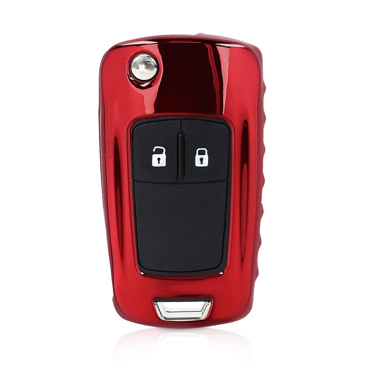 kwmobile Funda para Llave Plegable de 2-3 Botones para Coche Opel Vauxhall - Carcasa Suave de TPU para Llaves - Cover de Mando y Control de Auto en ...