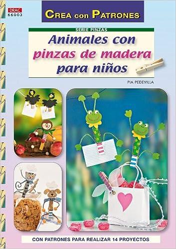 Libros para descargar en ipad gratis ANIMALES CON PINZAS DE MADERA PARA NIÑOS (Cp Serie Pinzas (drac)) 8498741661 ePub