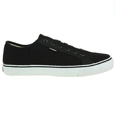 Schuhe Frontal 13 Low Skate Neu schwarz Canvas, Schuhe:EUR 44.5 Vision Streetwear