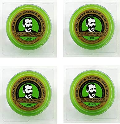Col. Ichabod Conk Glycerin Soap 2.25oz (4 Pack) by Col. Ichabod Conk