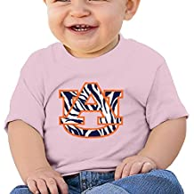 Rebecca Auburn University Baby Short Sleeve Tee Pink