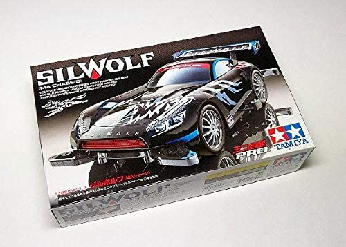 RCECHO Tamiya Model Mini 4WD Racing Car 1//32 Pro Series Silwolf MA Chassis 18645 with Full Version Apps Edition